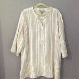Sandpoint by Coldwater Creek Tunic 3x